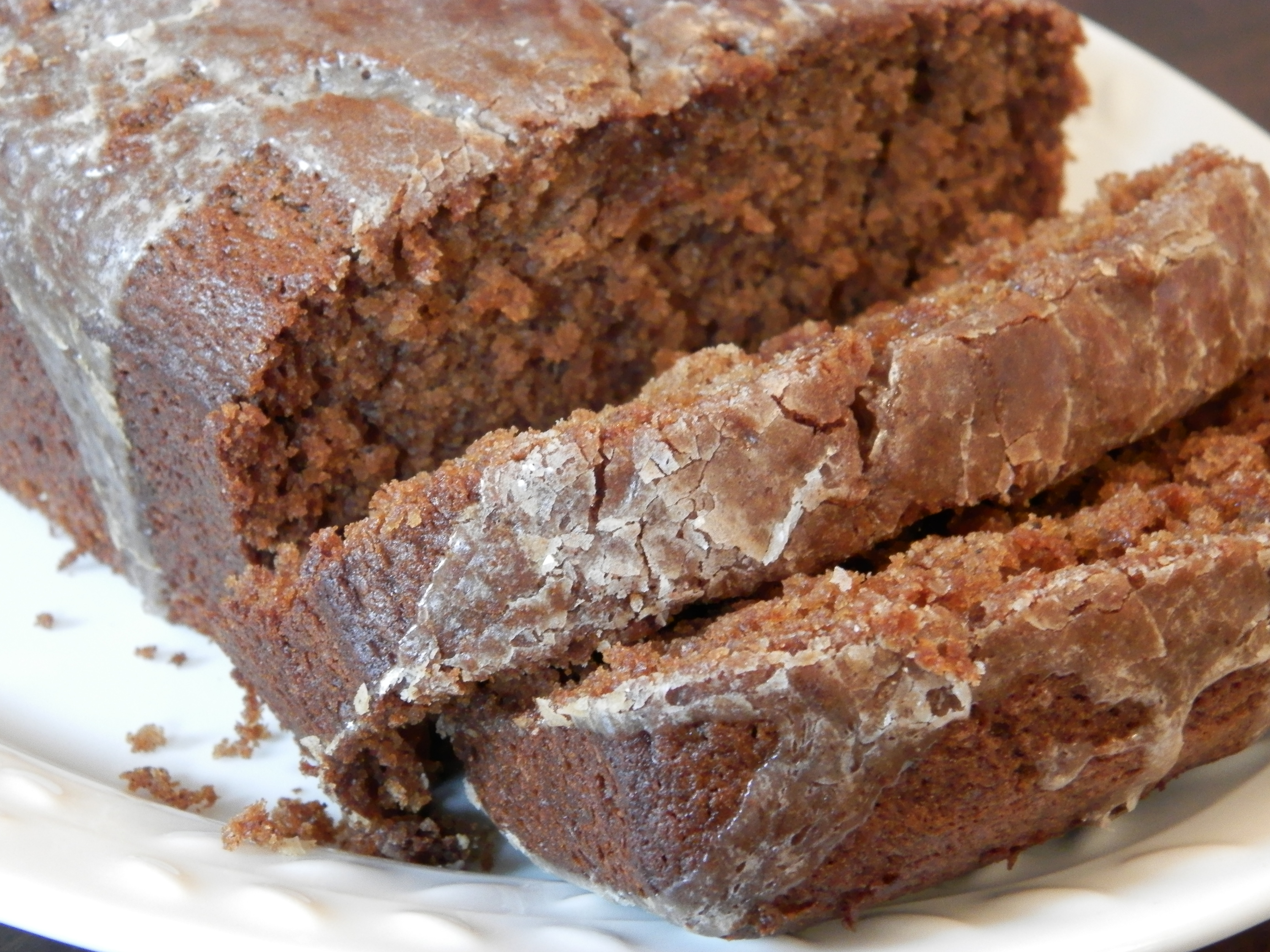 Apple Butter Bread with Cinnamon Glaze | A perfect taste of fall.
