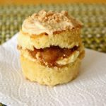 Apple Pie Babycakes are based on the Milk Bar Apple Pie Cake recipe, but in miniature form | www.thebatterthickens.com
