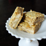 Apple Butter Cheesecake Bars | the best thing to happen to apples since apple pie | www.thebatterthickens.com