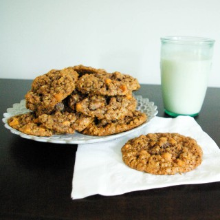 Ovaltine Oatmeal Cookies