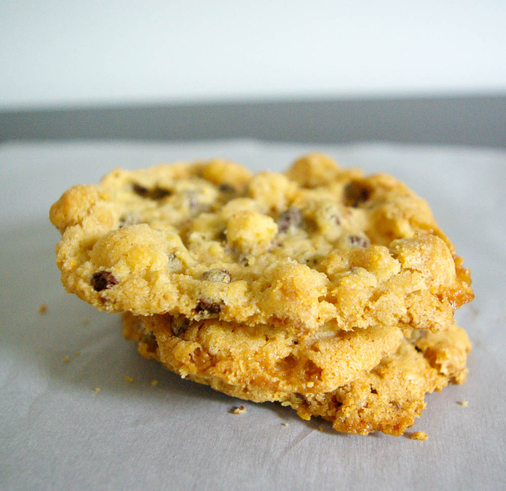 PB Cap'n Crunch Cookies | A take on Momofuku's cornflake crunch, but made with captain crunch instead of cornflakes - a delicious take on a classic cereal.