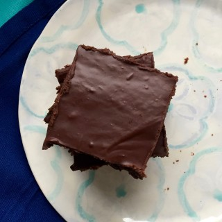 Fudgy Avocado Brownies + Wrestling With Creativity