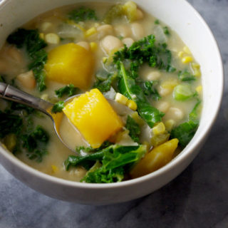Easy Stovetop Vegetarian White Bean Chili